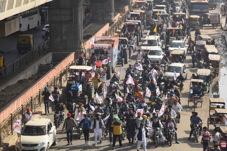 Delhi Tractor Rally