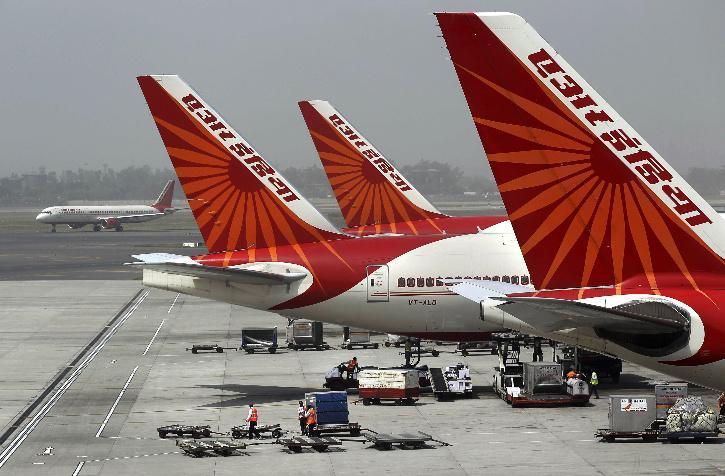 india uk flight air india