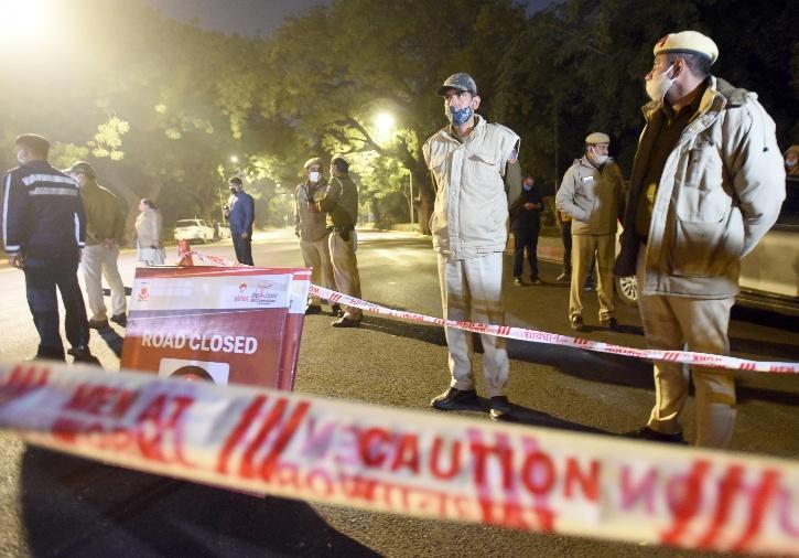 Israeli Embassy Blast