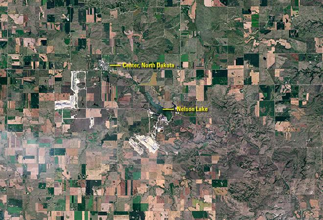 Mining at Center, North Dakota (August 25, 1984 - August 17, 2016)