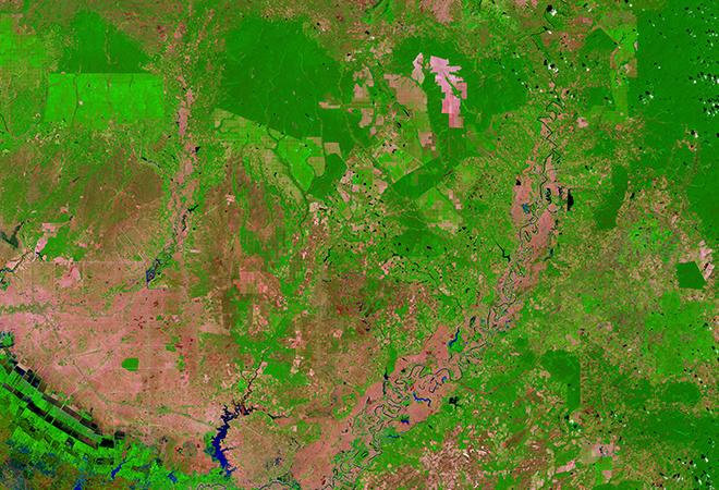 Rapid forest loss in Cambodia (February 20, 1999 - February 5, 2017)