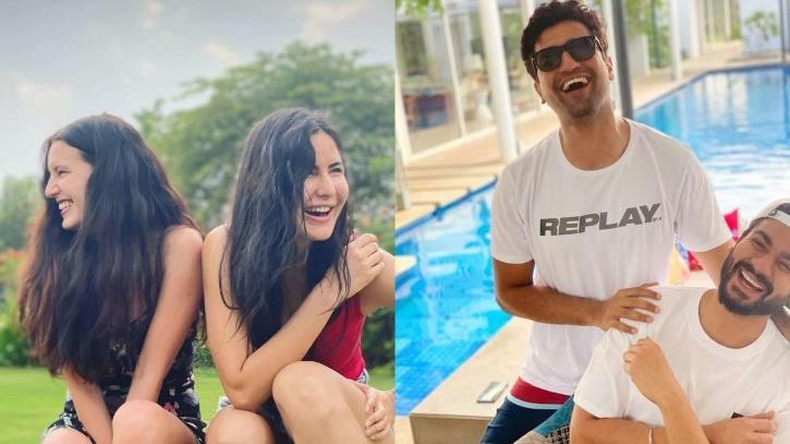 Vicky Kaushal and Katrina Kaif / Indiatimes