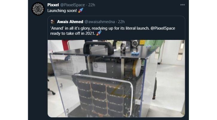 pixxel space isro rocket satellite