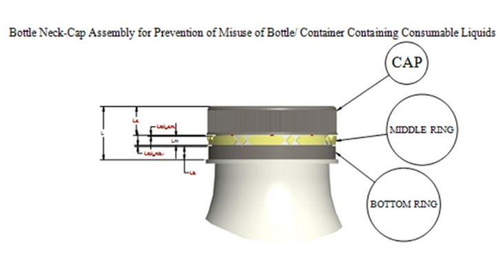 plastic bottleneck seal indian patent