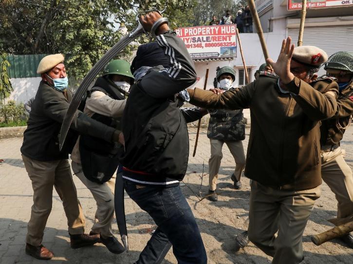 Singhu Border Violence
