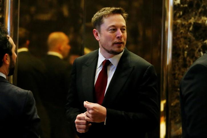 Tesla CEO, SpaceX boss and currently the world