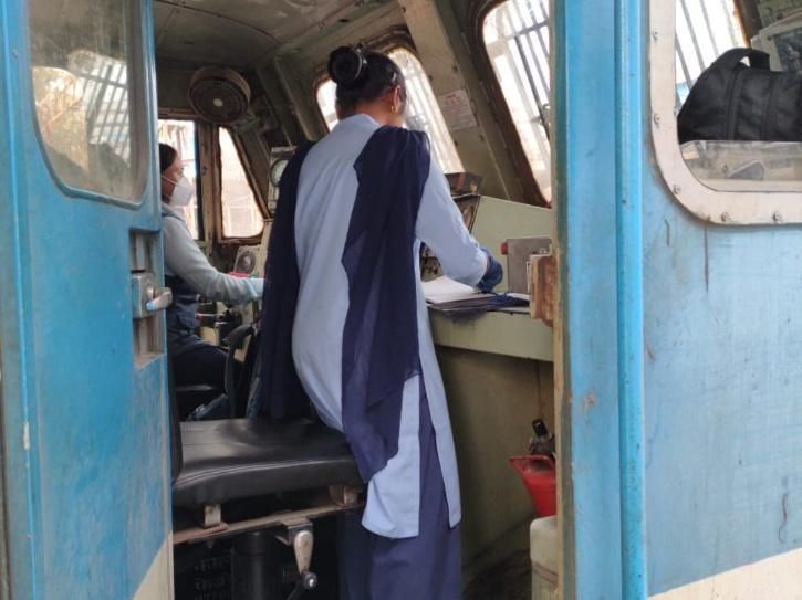 Indian Railways, Western Railways, All-Female Guard And Crew, Women In Railways