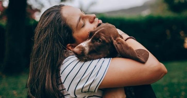 woman dogs relationship