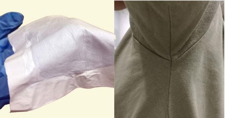 sweat absorbing fabric