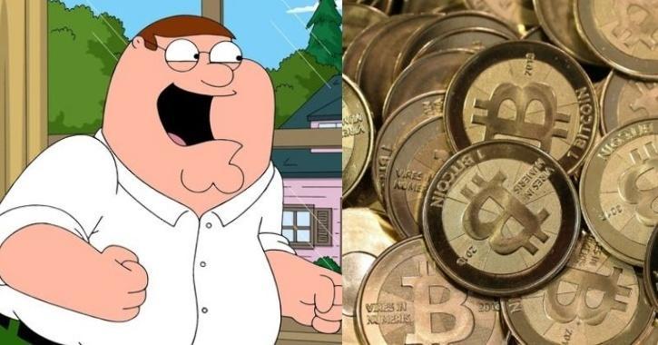 family guy bitcoins