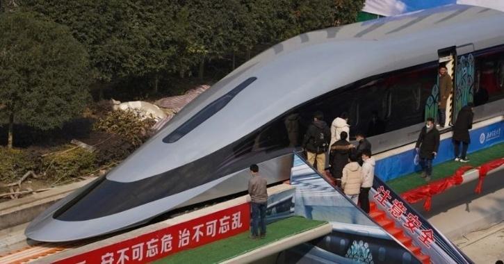 China maglev train
