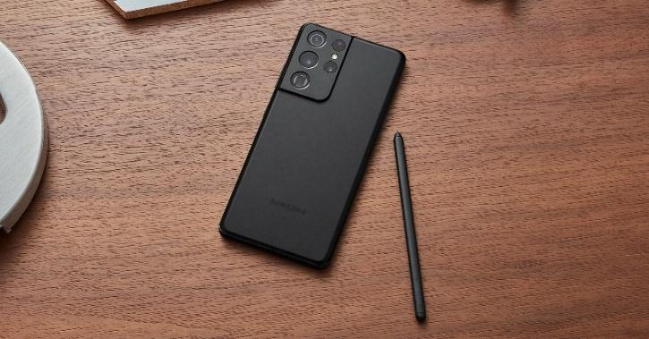 Samsung Galaxy S21 Ultra black SPen 2