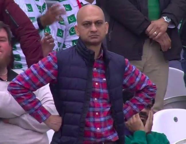 Disappointed Pakistani Cricket Fan