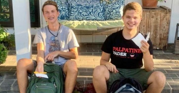 A mum in the US has taught her two teenage sons to always carry tampons in case any of their female friends have an