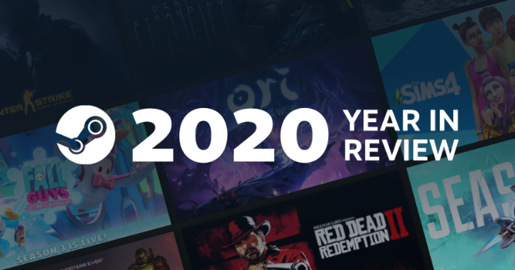 Steam PC gaming 2020 year in review