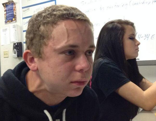 Trying To Hold A Fart Next To A Cute Girl In Class- Michael McGee