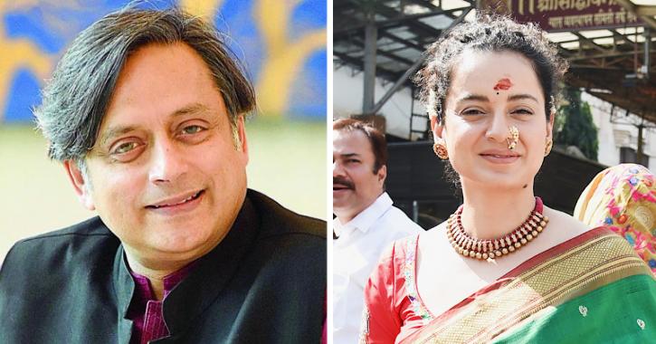 Shashi Tharoor Replies To Kangana Ranaut