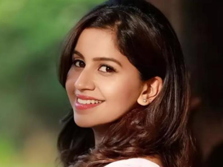 Kannada TV host Anushree