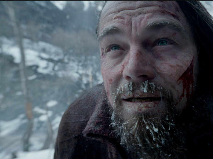 During the filming of The Revenant, there was no cellphone signal.