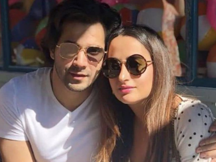 Natasha Dalal and Varun Dhawan