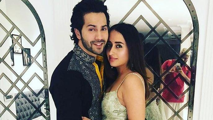 Varun Dhawan and Natasha Dalal / Instagram