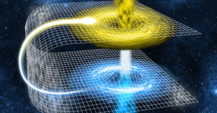wormhole space-time travel