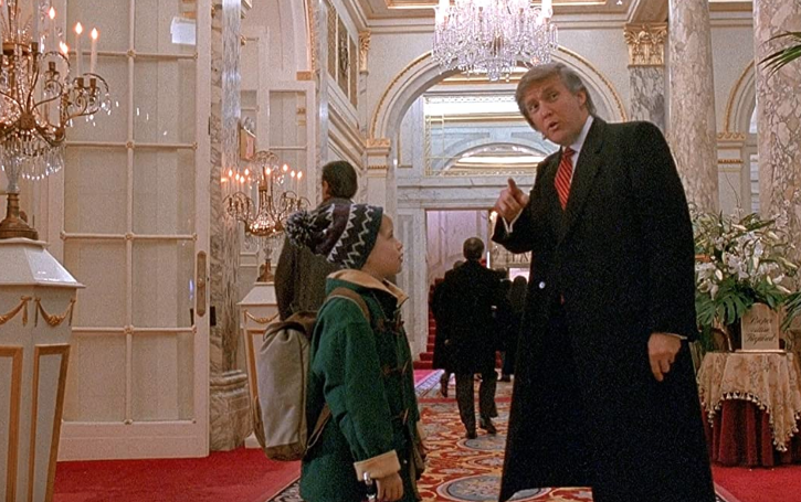 Donald Trump in Home Alone 2 / Twitter