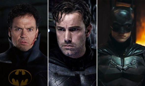 Michael Keaton, Robert Pattinson and Ben Affleck / Indiatimes