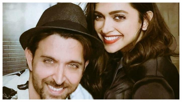 Hrithik Roshan and Deepika Padukone / Twitter