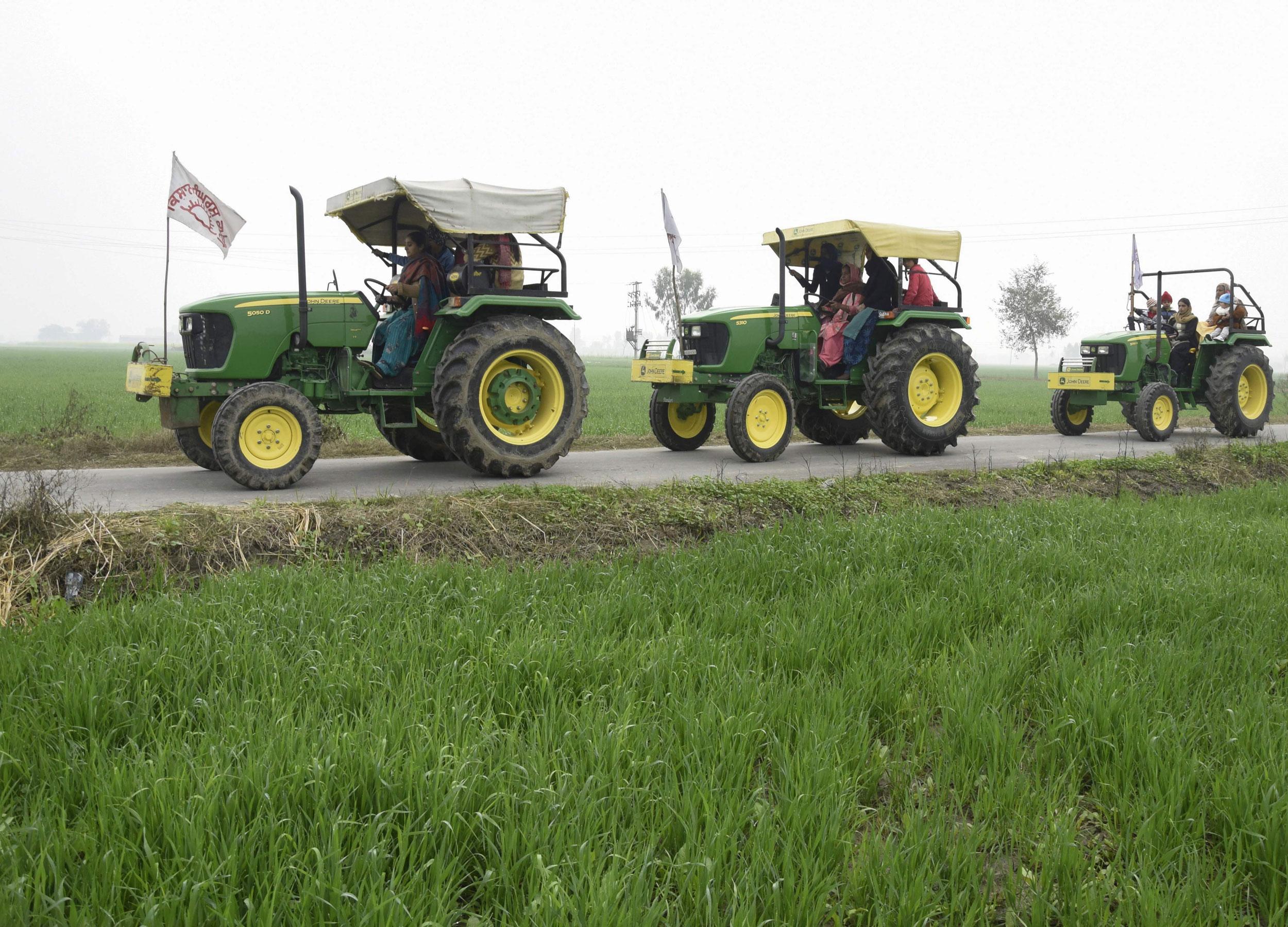 Farmers Republic Day Parade