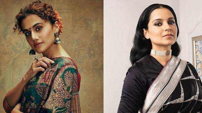 Kangana Ranaut and Taapsee Pannu / Indiatimes