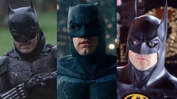 Ben Affleck, Micheal Keaton and Robert Pattinson / Indiatimes