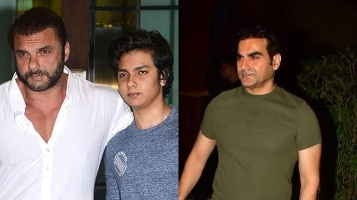 Sohail Khan with son Nirvaan and Arbaaz Khan / Indiatimes
