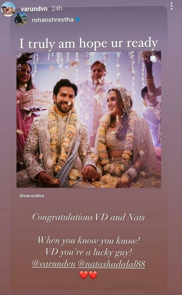 Varun Dhawan / Instagram