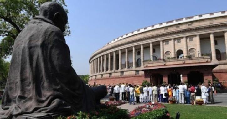 gandhi parliament