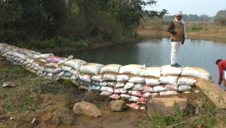 jharkhand farmers dam