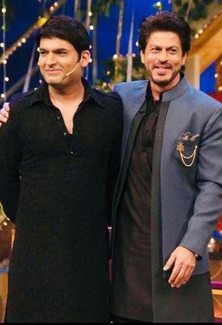 कपिल शर्मा शाहरुख़ खान के साथ