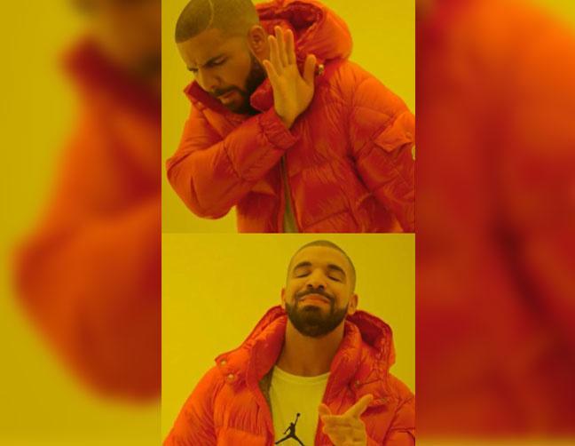 Drake approves/disapproves - Drake