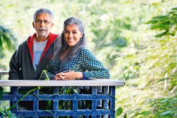 Naseeruddin Shah and Ratna Pathak Shah / Twitter