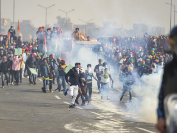 Protests farmers
