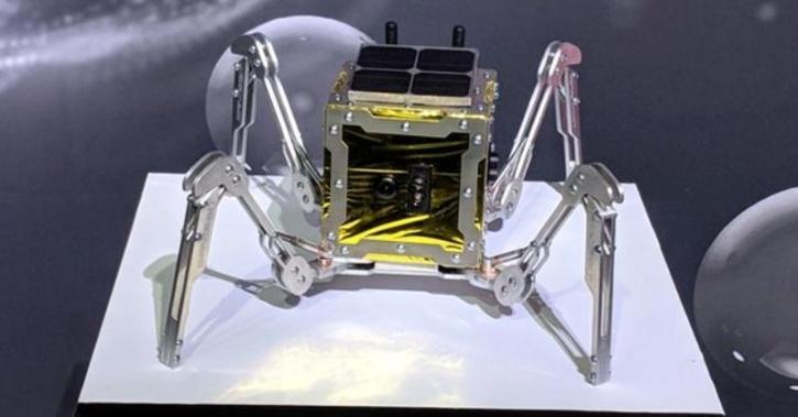 NASA Spider rover moon explorer