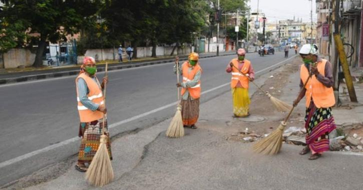 sanitation workers fired