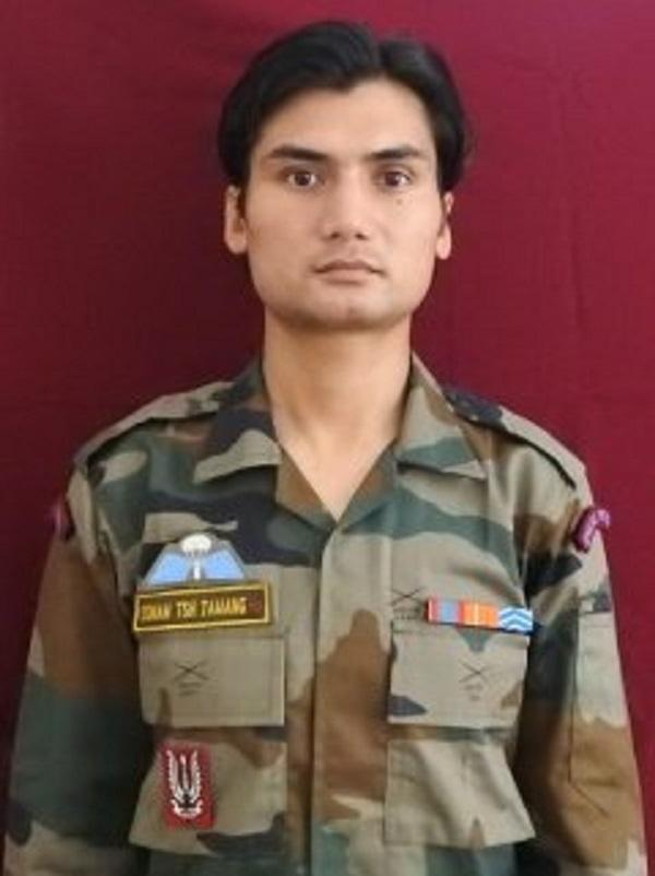 Paratrooper Sonam Tshering Tamang