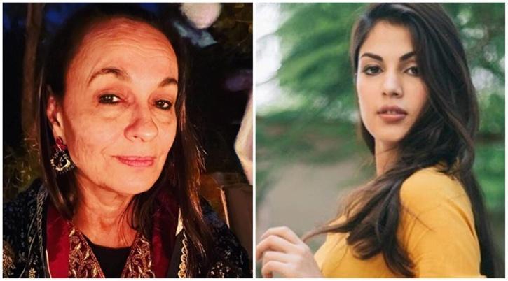 Soni Razdan and Rhea Chakraborty / Indiatimes