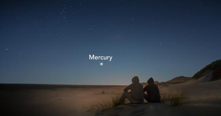 Mercury at Greatest Eastern Elongation