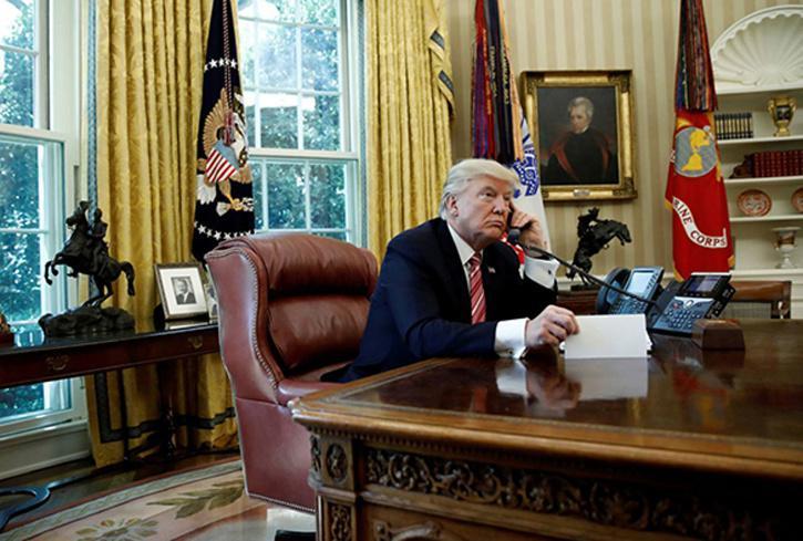Trump vs Biden Oval Office