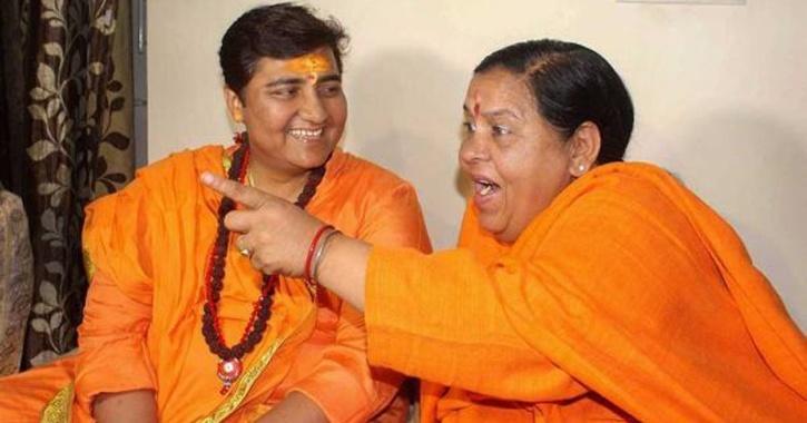 uma bharti sadhvi pragya