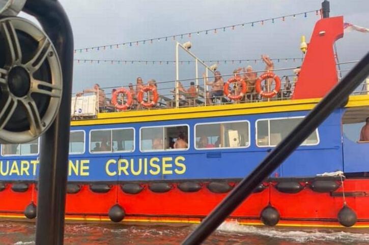 a nudist cruise