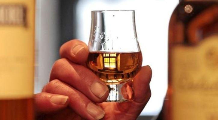 Whisky biogas
