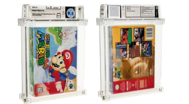 Mario 64 auction